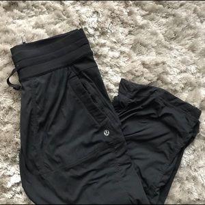 Lululemon Dance Studio Capris Pants Black